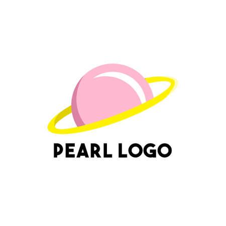 pearl logo design concept modern art 免版税图像 - 157710512