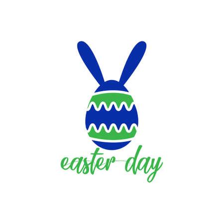easter logo day concept art modern