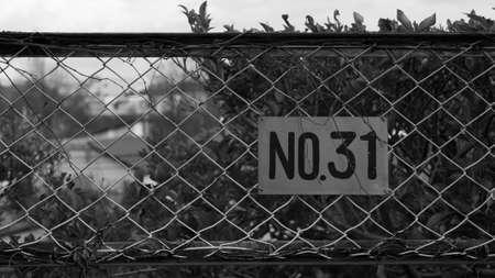 dark: No31 dark fence