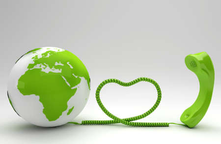 Green telco concept Stock Photo - 8489073