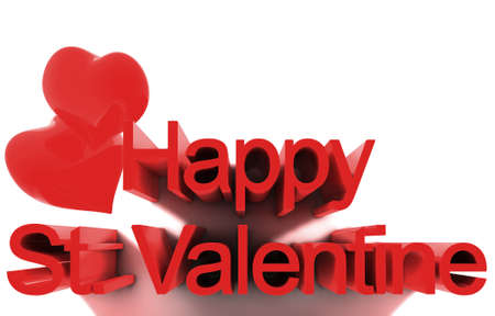 14th: 14th February, St. Valentines Day. 3D render concepts