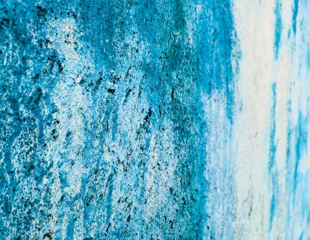 colorfull vibrant outdoor bumpy sea blue color perspective vintage wall texture