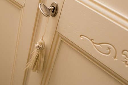 particular key wooden wardrobe door