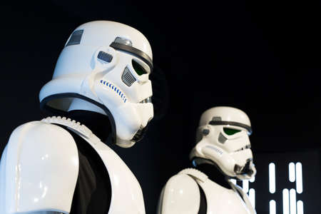Star wars, soldiers with black background.2jpg