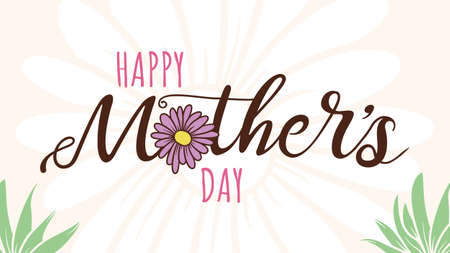 A title card for a Mother's Day message or card.