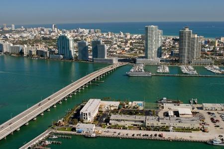 Miami beach Aerials Stock Photo - 11786973