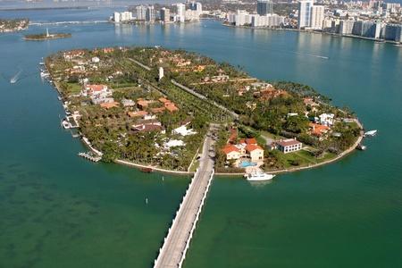 Miami beach Aerials Stock Photo - 11786972