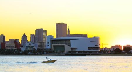 Miami beach, American Airlines Arena photo