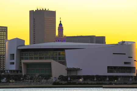 Miami beach, American Airlines Arena photo