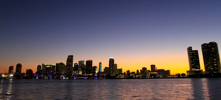 Miami Beach Skyline photo