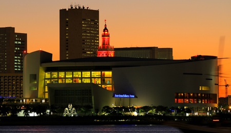Amercian Airlines Arena, Home of the Miami Heat
