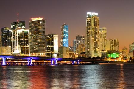 property development: Miami beach skyline