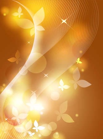 vague: Picture abstract background in gold and yellow-brown colors