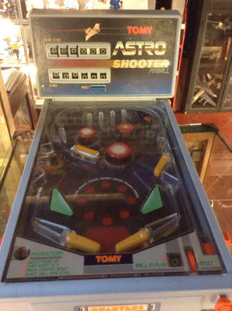 pinball: A very old and hard to find pinball machine found in Penang  Stock Photo