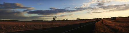 Panoramic views of dry, drought stricken farm land in Gunnedah, New South Wales, rural Australia Фото со стока