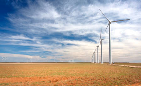 A wind farm Stock Photo - 12531654