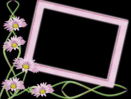 flowerses: Frame from colour and &#1089,&#1090,&#1077,&#1073,&#1083,&#1077,&#1081, on black background