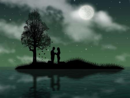 allegiance: Enamoured pair brings pledge of allegiance on island in the night