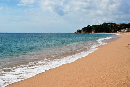 sea seaside to spain. photo