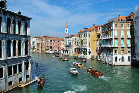 Grand Canal in Venice, the city on the water in Italy. September 26, 2014, Italy