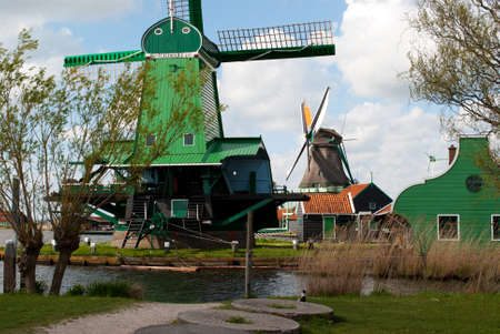 zaanse: The village of Zaanse Schans. April 28, 2015. The Netherlands