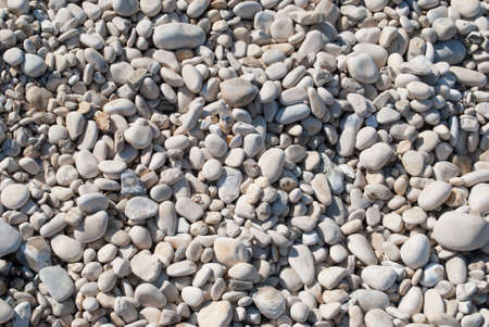 background large sea pebbles