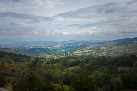 mountains and natural landscapes of Italy
