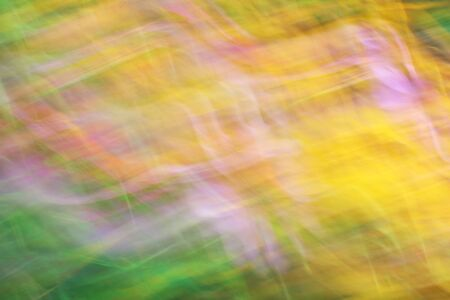 light streaks: Photo art, bright Colorful light streaks abstract background, Effect of movement in green and yellow colors