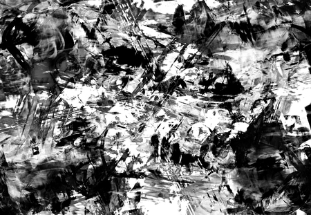 drippy: Art abstract black and white chaos pattern background