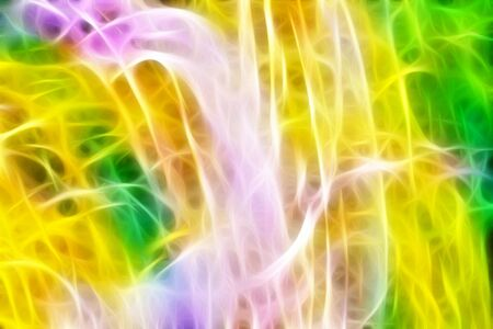 light streaks: Art, Colorful light streaks abstract background in yellow, pink, purple and green colors