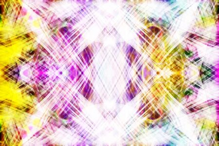 light streaks: Art, Colorful light streaks graphic background in yellow, pink, purple and green colors