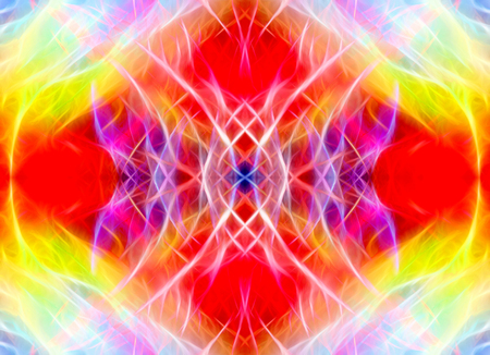 light streaks: Art, bright Colorful light streaks abstract background in red, purple and yellow colors, symmetry