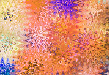 abstracted: art abstracted colorful chaotic pattern background in brown Stock Photo