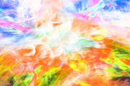 Photo art, bright Colorful light streaks abstract background, Effect of movement
