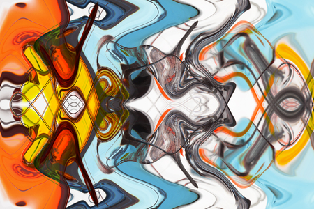 art abstract multi-colored pattern background