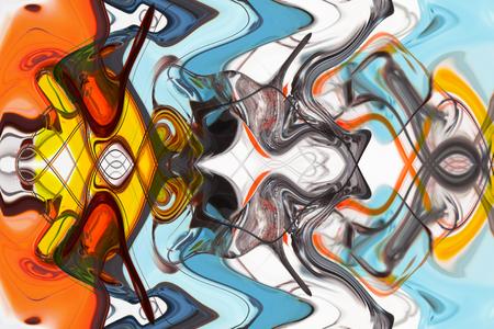 abstrakte muster: Kunst abstrakte mehrfarbige Muster Hintergrund