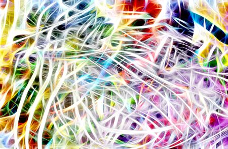 light streaks: Art, Colorful light streaks abstract background in yellow,blue, purple and green colors Stock Photo
