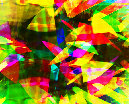 chaos: art abstract bright rainbow chaos pattern background