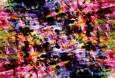 inexpressive: Abstract aggressive background with red, green and blue color, similar to an old poster