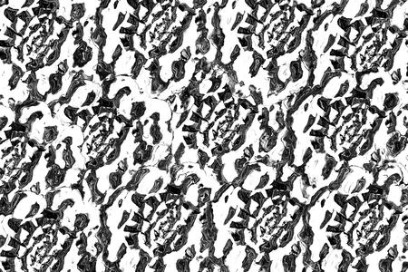 drippy: Art abstract black and white pattern background