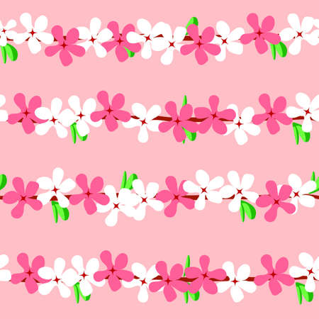 blossom cherry, seamless texture Stock Vector - 17822803