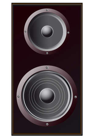 speakers, low and high frequencies