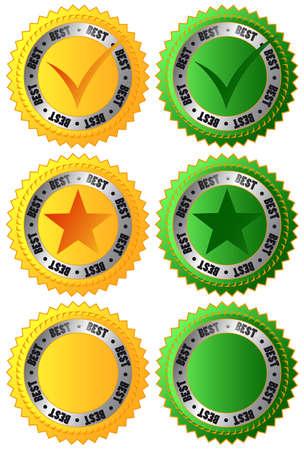 Set of labels best