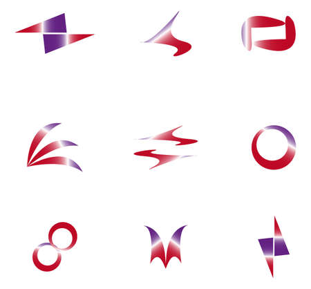set of abstract elements for design Stock Vector - 17822824
