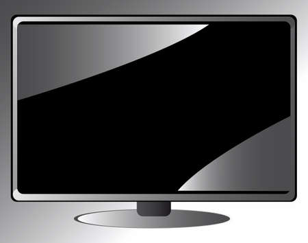 lcd vector tv Stock Vector - 17822826