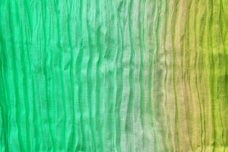 Multicolored eco rainbow linen background with copyspace