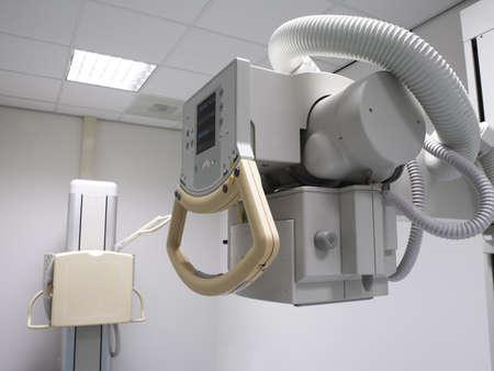 x-ray machine in hospital