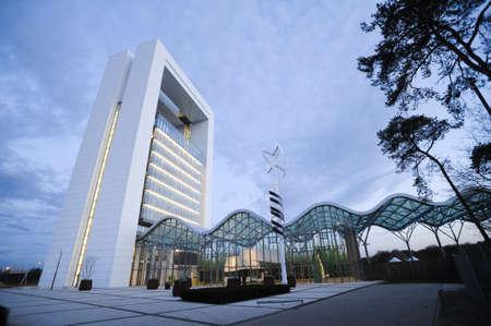 Floriade est un �v�nement unique organis� tous les 10 ans aux Pays-Bas Le parc couvre 66 hectares Floriade aNDF encompasses5 uniques univers th�matiques s�par�es par des zones bois�es �ditoriale