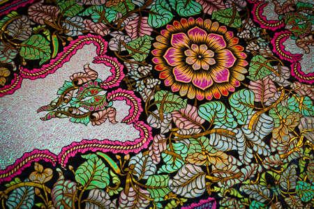řemesla: Vzor v malajské tradiční název kite Wau