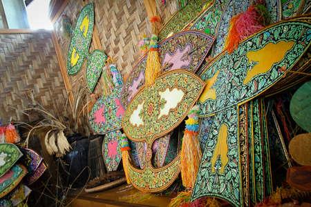 Maleisische traditionele kite naam Wau